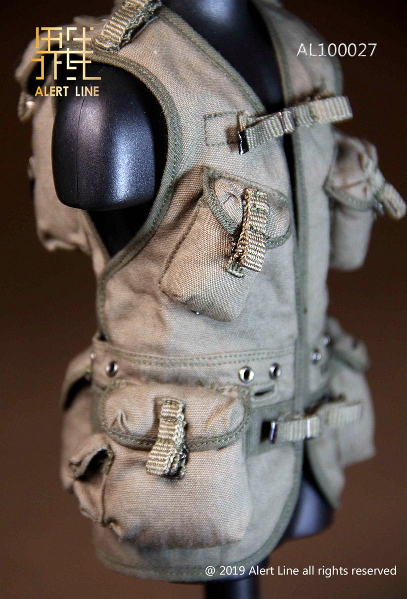 "Alert Line AL100027 1//6 Scale WWII US Army Ammo Belt Model for 12/"" Figure"
