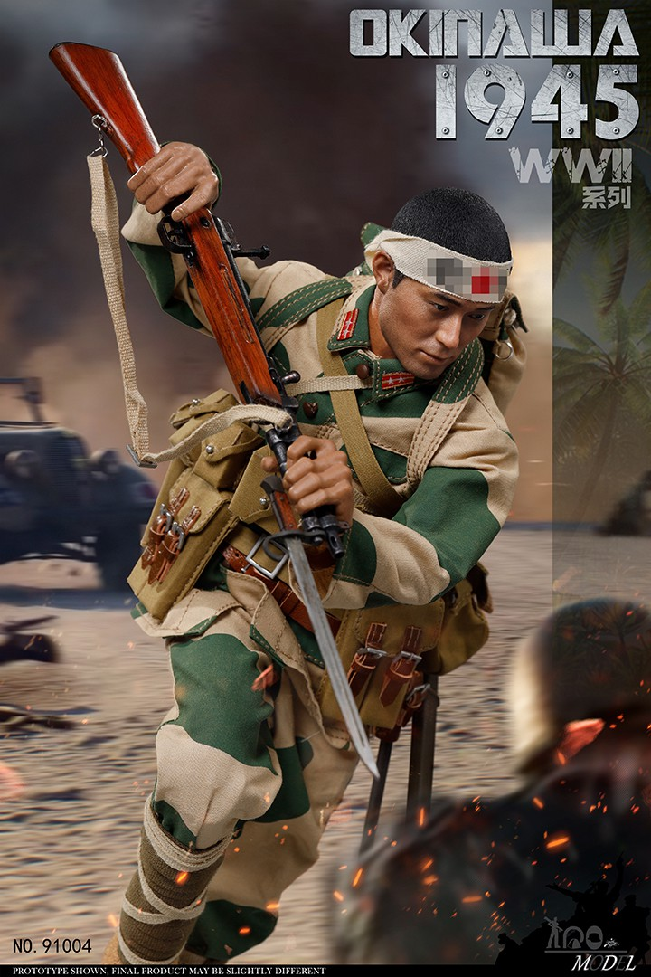 IQO Model 1//6 WWII 1945 Battle of Okinawa 91004 Solider 12inch Action Figure Toy